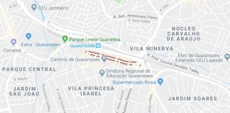 Rua Hipólito de Camargo Guaianazes