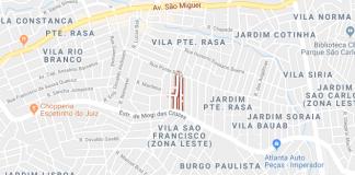 Ponte Rasa Rua Padre João de Castro e Costa