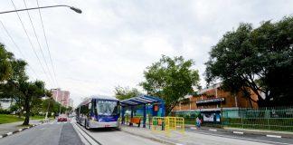 Avenida João Firmino corredor de ônibus são bernardo do campo