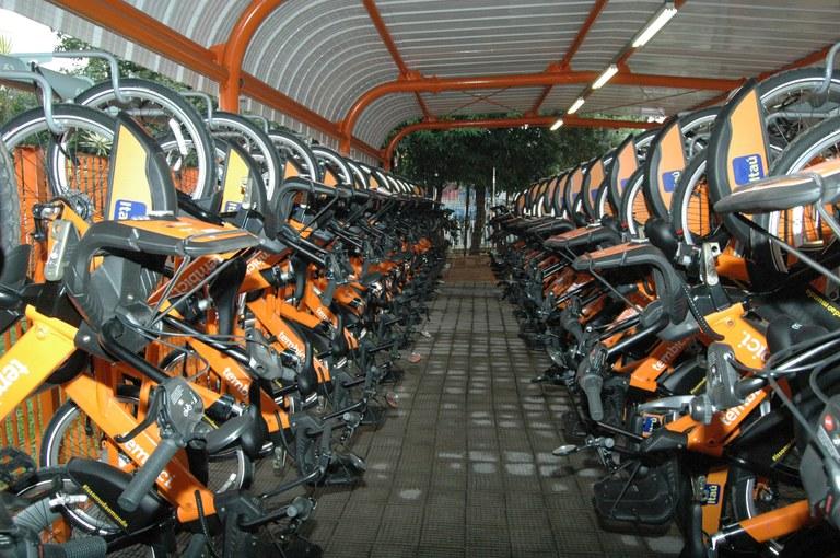 estação bike cidade tiradentes