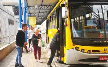 radial transporte ônibus municipais