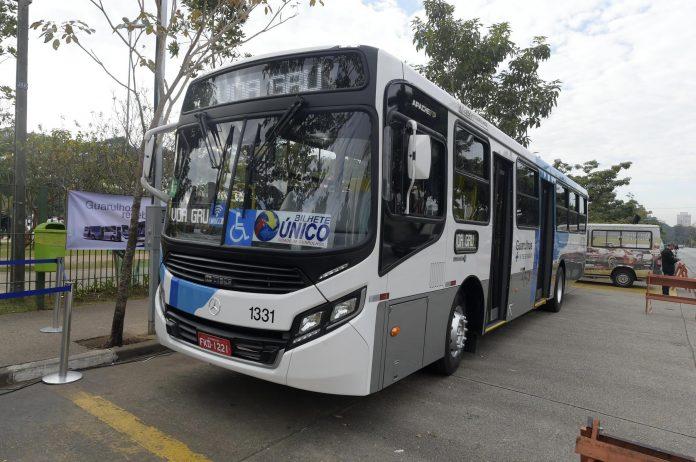 novos ônibus guarulhos