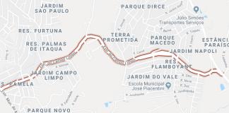Estrada do Campo Limpo Itaquaquecetuba