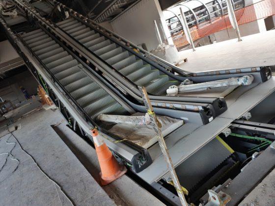 Fazenda da Juta escadas rolantes