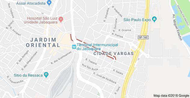 Rua Nelson Fernandes Vila Guarani