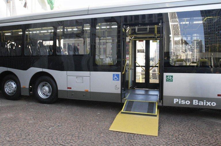 novos ônibus sp