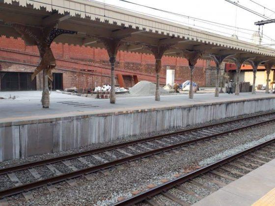 reforma plataforma linha 13