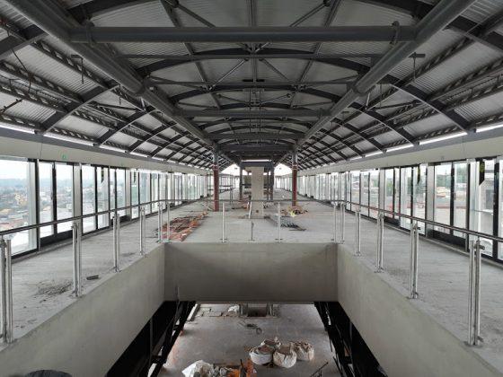sapopemba estação plataforma