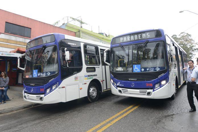 novos ônibus sbctrans sbc São Bernardo do Campo