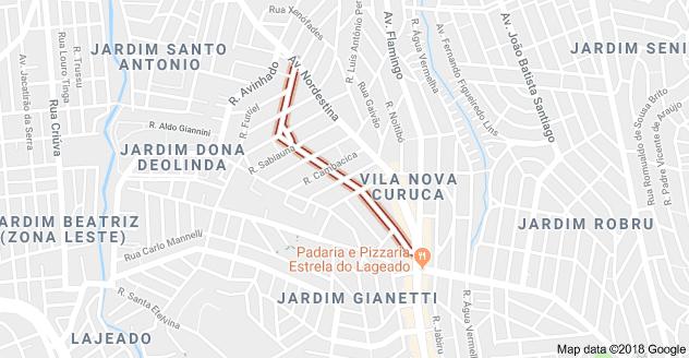 Rua Ananaí Vila Curuçá