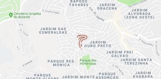Rua Jerônimo Fernandes itinerário