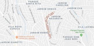 Jardim Nazaré Rua Romualdo de Souza Brito