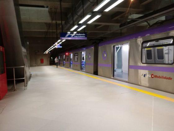 Estação AACD Servidor Trem Linha 5-Lilás