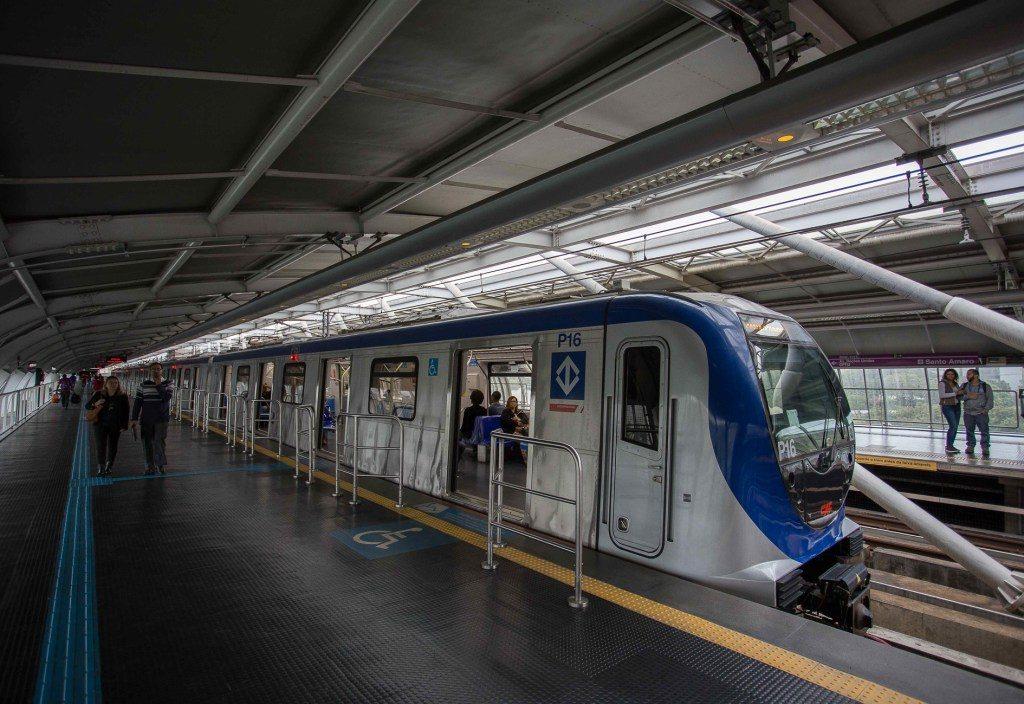 estação santo amaro linha 5