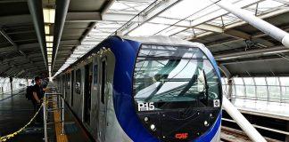 trem p15 linha 5 viamobilidade