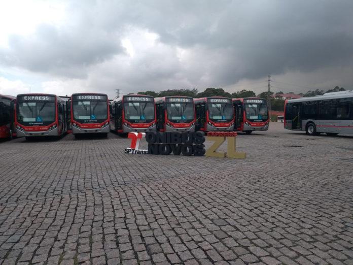 ônibus novos zona leste