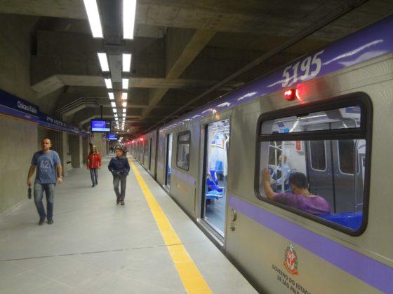 Estação Chácara Klabin Linha 5-Lilás