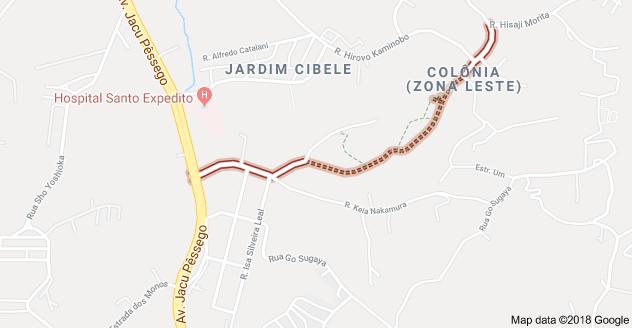 Rua Zituo Karasawa Colônia