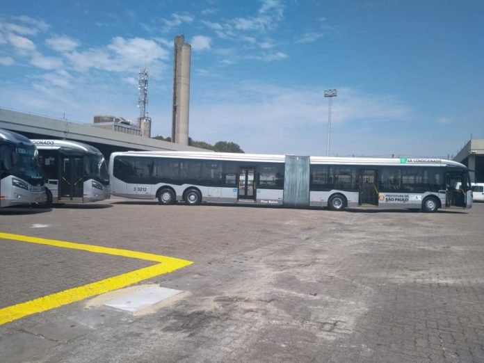 consórcio plus ônibus Frota de ônibus