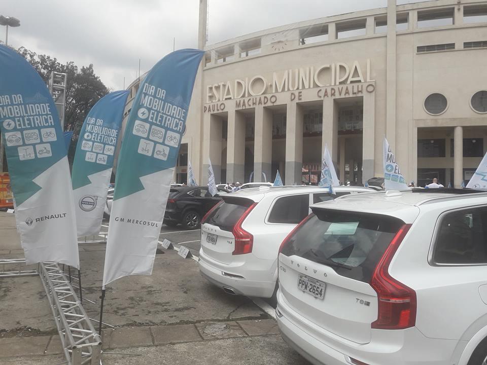veículos elétricos mobilidade elétrica pacaembu