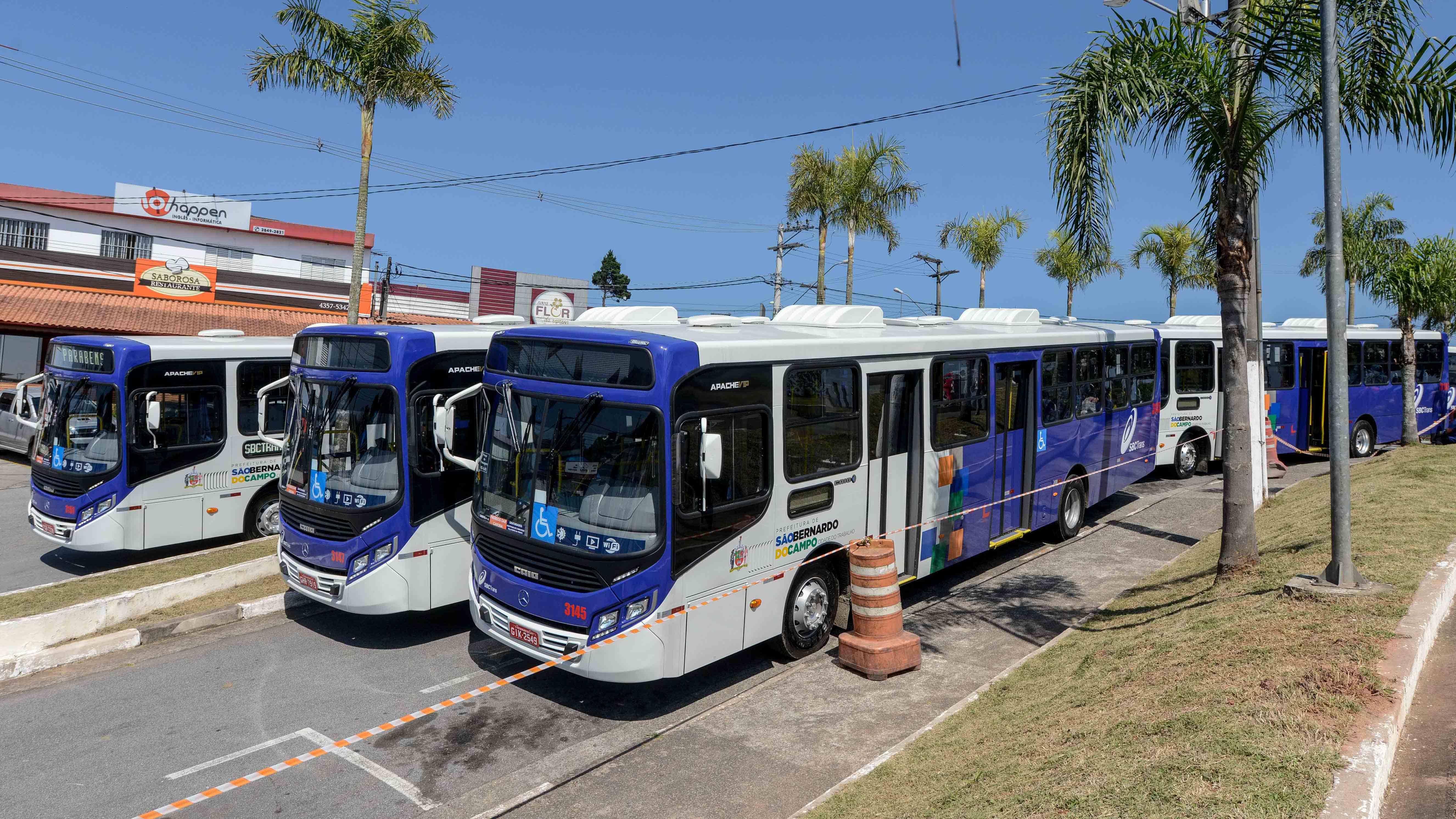 novos ônibus sbctrans