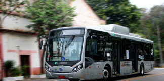 projeto piloto ônibus