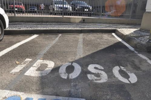 vaga idoso estacionamento cartão de estacionamento do idoso