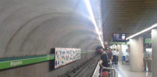 retorno do feriado estação brigadeiro linha 2-Verde Finados