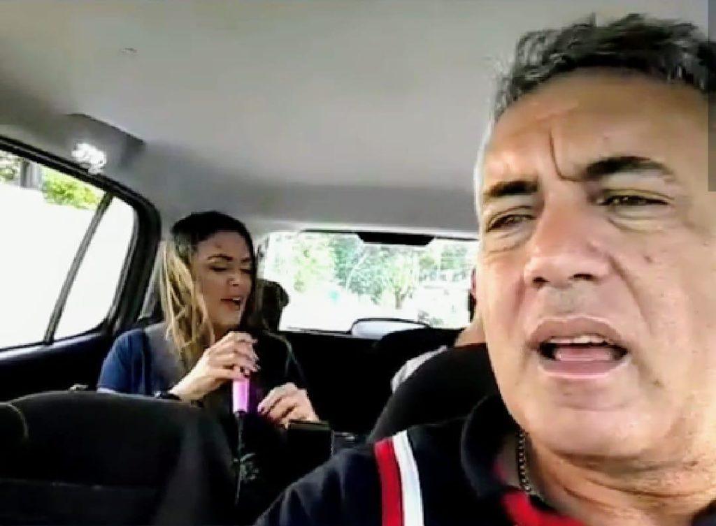 karaokê no uber