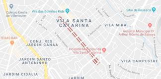 rua Charles Darwin Vila Santa Catarina