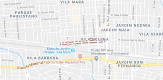 rua Conceição do Almeida Parque Paulistano