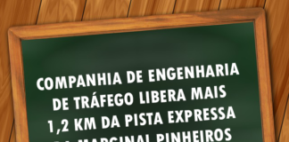 trecho liberado Marginal Pinheiros