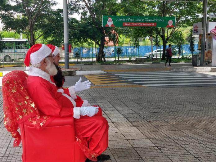 Papai Noel sptrans