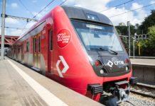 Novo trem da CPTM Greve da CPTM