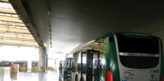 ponto de ônibus Metrô Vila Prudente
