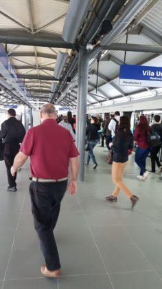 Estação Vila Prudente chegada