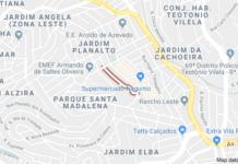 Rua Iaçapé Parque Santa Madalena