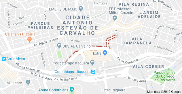 Rua do Tucuxi Cidade A. E. Carvalho