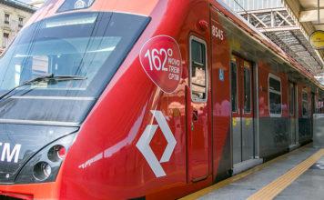 novos trens Linha 11-Coral