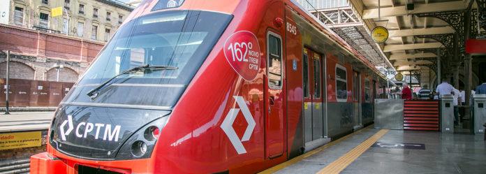 Estação Guaianase novos trens Linha 11-Coral Expresso Leste