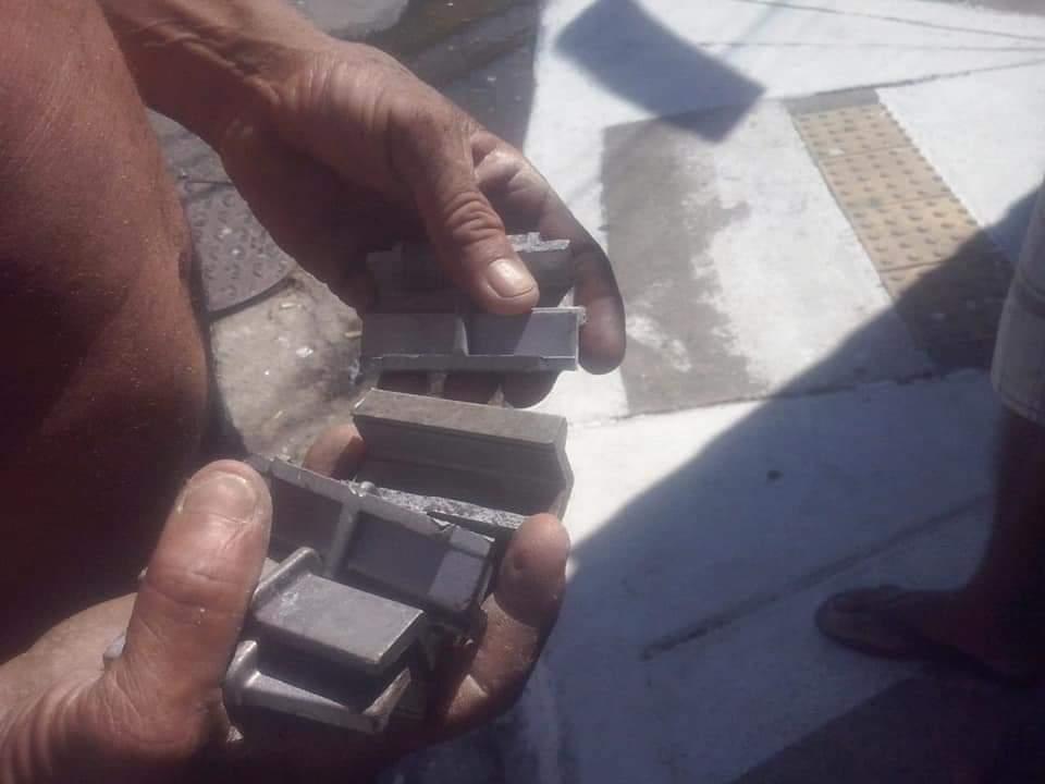 peças do equipamento