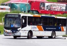 raposo tavares ônibus em Cotia