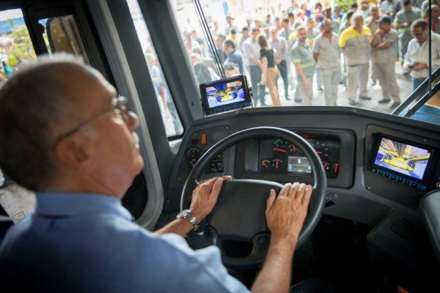 metra ônibus motorista