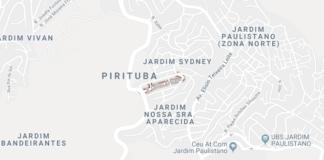 rua Odilon Azevedo Pirituba
