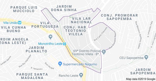 Conjunto Habitacional Teotônio Vilela