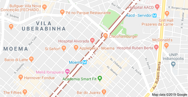 avenida ibirapuera obras