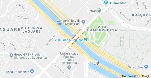 Ponte do Jaguaré Marginal Pinheiros