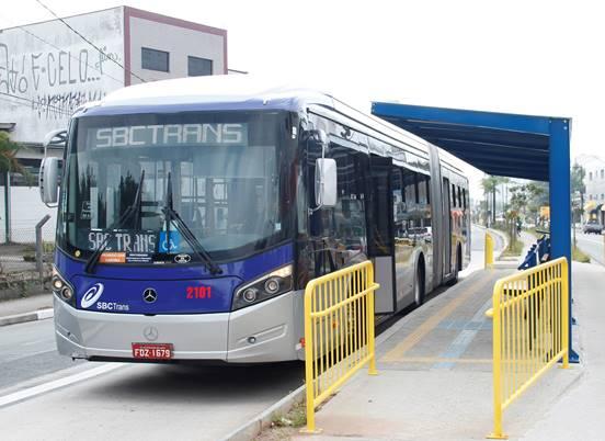 Ônibus da SBCTrans