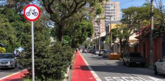 Ciclofaixa Vila Galvão