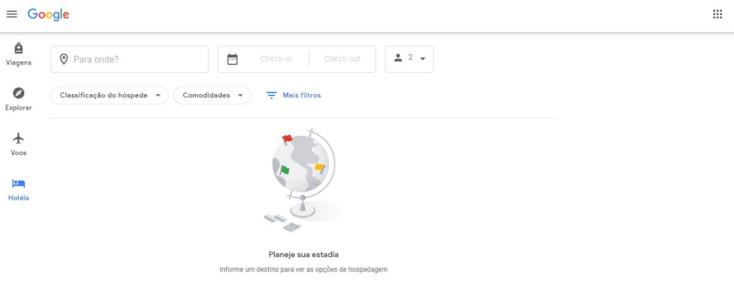 Google Hotéis